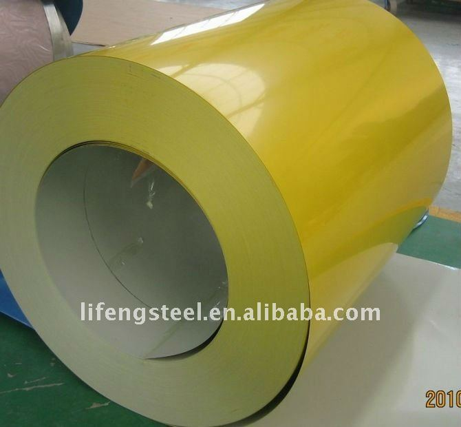 color coated steel coil (PPGI)