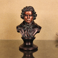 Resin Crafts Home Decoration Beethoven Figurines Polyresin Musician Statue