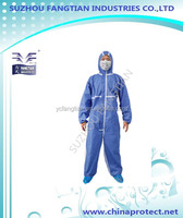 SMS CE disposable nonwoven coverall