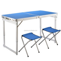 Portable folding aluminum table for outdoor/caming JF-15-28