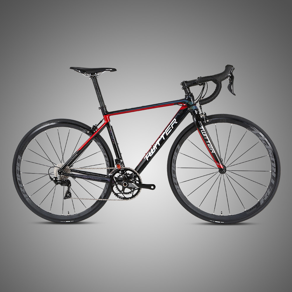 New road racing <strong>bike</strong> cheap with carbon fork Claris/R2000-16S