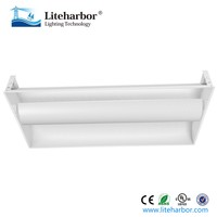 32W 48W 64W White Color Office 2x4 ft LED Troffer Light Fixtures