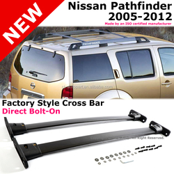 aluminum roof cross bar rack specialized for Pathfinder 2005 up