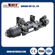 Hot sale square 150mm axle beam pcd 335mm 13 ton trucks and trailers axle