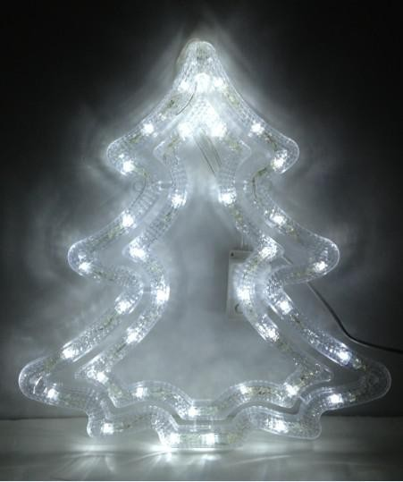Christmas lighting tree light PVC plastic 110v 220v led decoration light with power supply