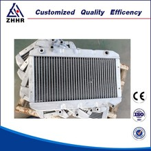 Aluminum Brazed Finned Tube Oil Cooler