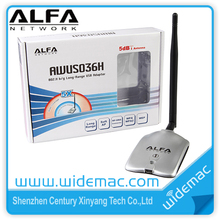 Alfa Awus036H High Power Wireless USB Adapter / Realtek RTL8187L Alfa Awus036H USB WiFi Adapter