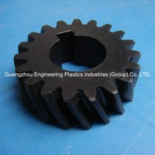 Guangzhou Engineering plastic factory plastic gear for electric motor pom helical gear price