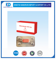 400mg Albendazole Tablets with GMP certification