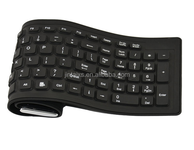 waterproof and dustproof laptop /desktop silicone keyboards