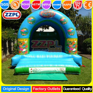 ZZPL Funny Mini Indoor Outdoor inflatable jumping castle/kids inflatable bouncer for sale