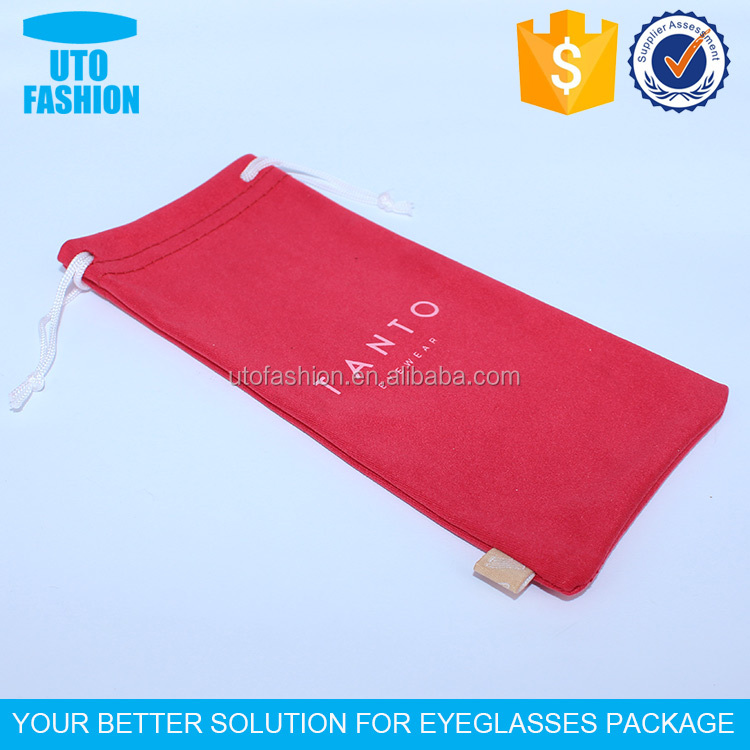 YT2006 Custom Printed Microfiber Sunglasses Pouch