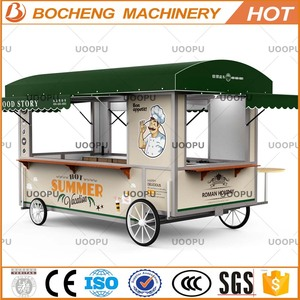 Mobile food kiosk with EEC certificate