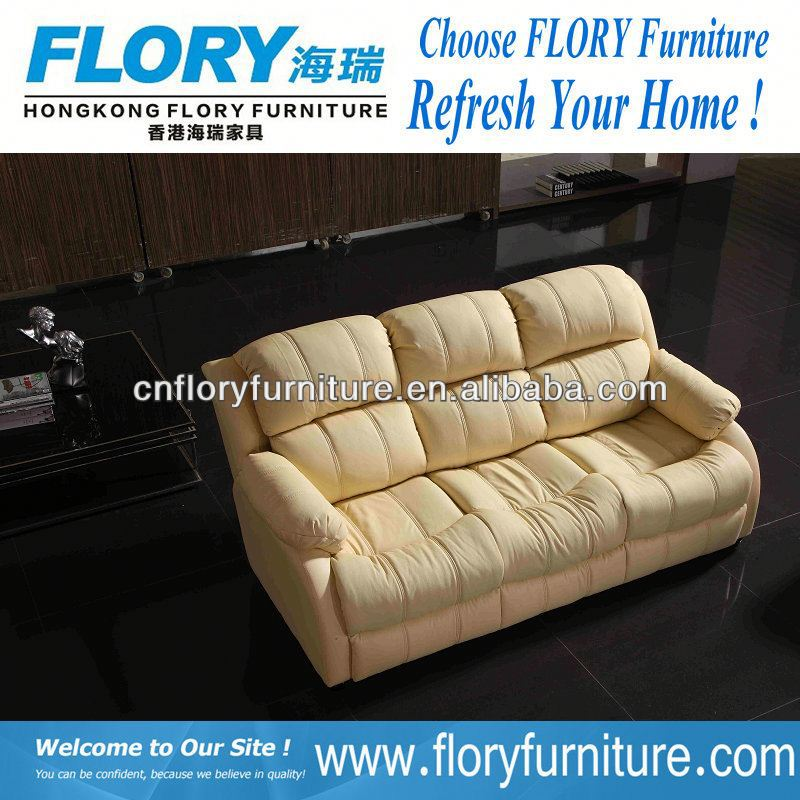 2013 modern new design round leather sofa