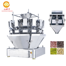 Plastic Bag Online Automatic Multihead Weigher Corn Packing Filling Machine