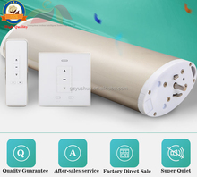 Wireless air compressed automatic curtain, Wifi Remote Control curtain motor