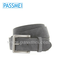 fashion suede leather belt, both side suede leather