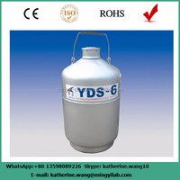 Factory supply small liquid nitrogen container with CE,ISO confirmed