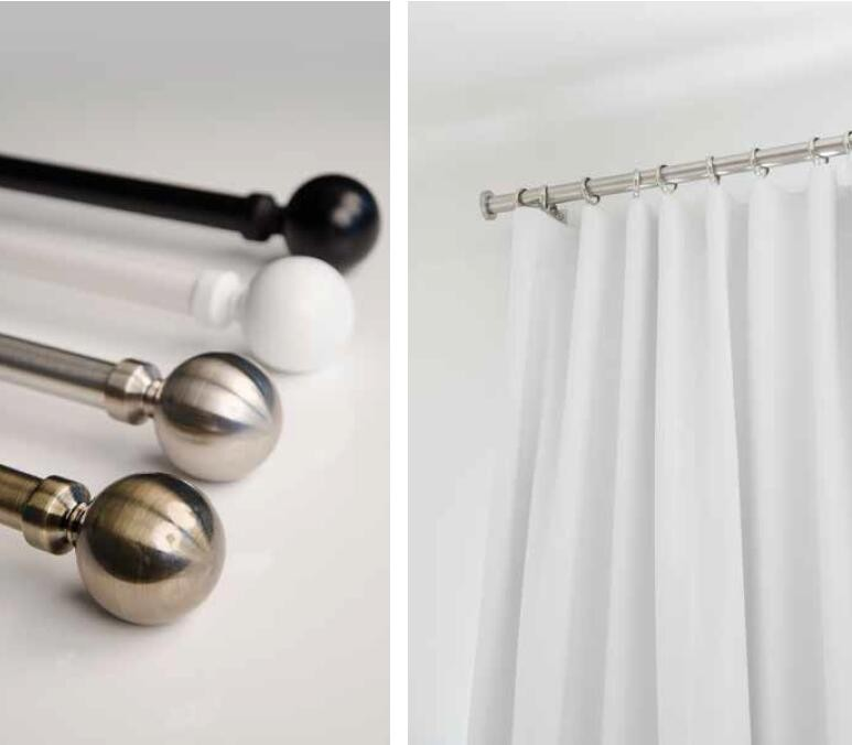 Accessories decorative curtain finials