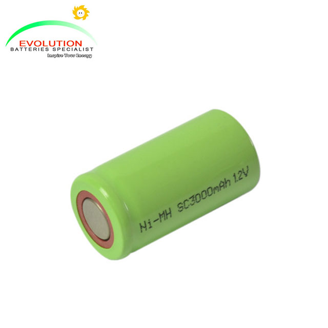 SC/Sub C 3000mAh 1.2V NiMH Battery Manufacturer with CE,ISO,UN38.3 and UL certificates in China