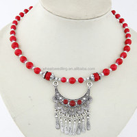 2014 new product yiwu imitation jewelry fashion cheap Imitation of Bohemia necklaces
