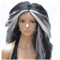 MCW-0326 Party Halloween synthetic long women Hot straight witch wig
