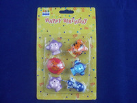 Animal shaped birthday candles,birthday candles