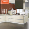 Wholesale custom cheap price pet kitchen cabinet new modern white high gloss kitchen cabinet