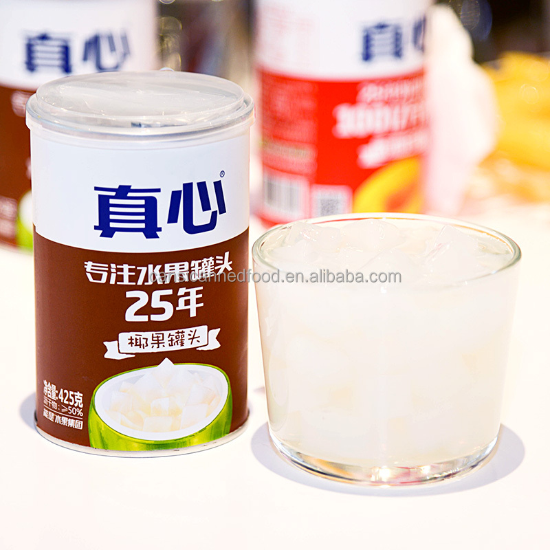 Canned Nata De Coco Jelly in Heavy or Light Syrup