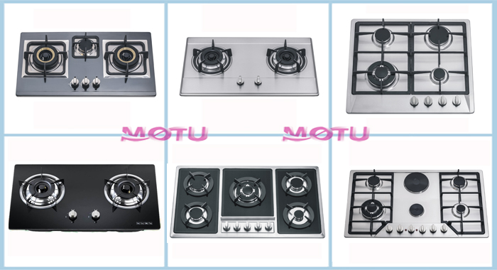 2016 durable 4-5 burners induction gas hob / gas stove