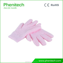 Beauty Moisturizing Feather Yarn Spa Gel Gloves With OEM Available