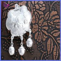 2013 HOT SELLING BEST GIFTS FOR BABY CHINESE STYLE SILVER DROP PENDANT ON SALE &Y00033D