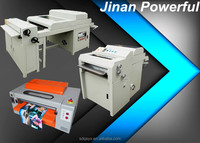 Latest digital prints UV coating machine for photo paper protecting