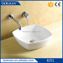 New product good quality wash basin price in india white basins fast delivery