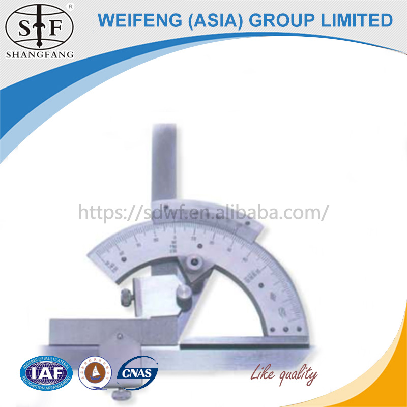 Trade Assurance Universal Bevel Protractor