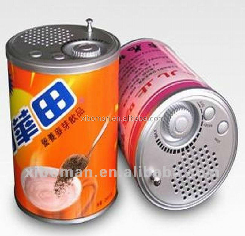 OEM & ODM Promotion Paint Can Shaped FM Shower Radio