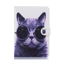 cute pattern hard leather tablet case cover for ipad 5