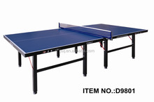 Single Folding 16mm Table Tennis Table For Markets,2015 Hot Selling Movable Ping-Pong Table,OEM Foldable Tennis Table Legs