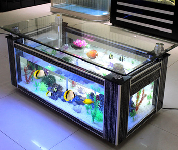 Shenzhen fashion large aquarium acrylic fish tank for sale