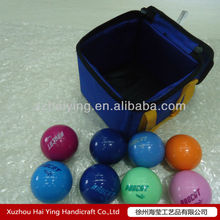 2012 Newest design poly resin bocce ball set