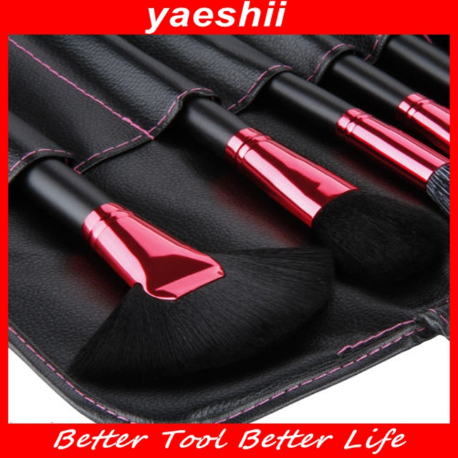 Yaeshii 32 STKS up kabuki brush Kit Professionele Cosmetische Up Tool Set met Grain Bag Case