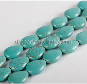 Untreated rough gemstones green turquoise