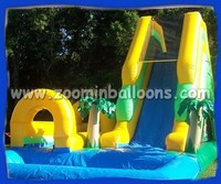 ultra smooth and exciting commercial giant giant adult inflatable water slide Z3002