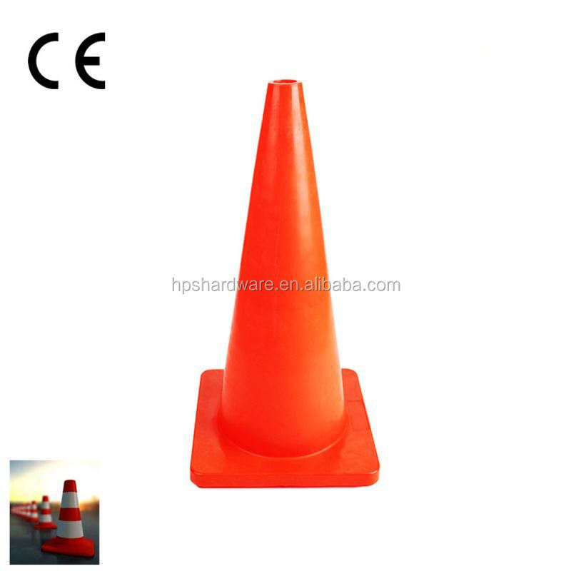 road safety traffic cone with high intensive reflective sleeve