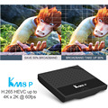 KM8P Octa Core Amlogic S912 Android 6.0 MarshMallow TV Box 1GB 8GB Support 2.4Ghz WiFi H.265 media player wifi streaming