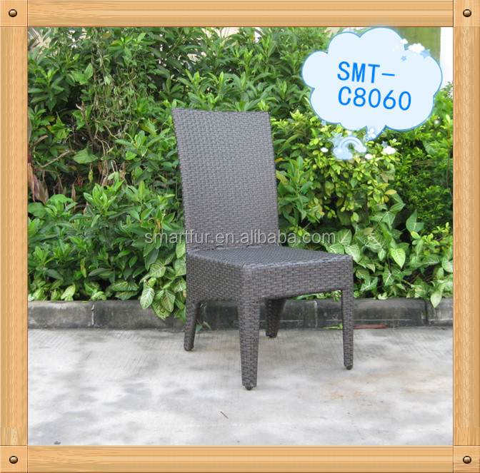 popular outdoor rattan dining chair