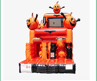 EN71/SGS/CE/UL Thanksgiving Day celebration inflatable pumpkin bouncer house for sale