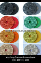 Diamond Abrasives Flexible Wet Polishing Pad for Granite and Marble