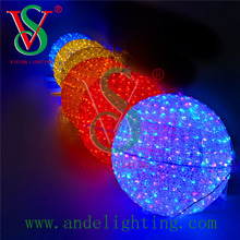 new outdoor christmas decoration 3d ball motif light led lighting