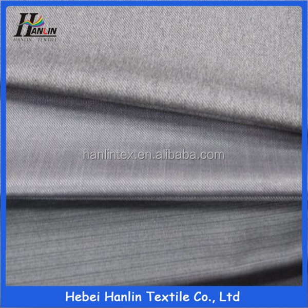 tr brushed velvet fabrics material for fashion garments